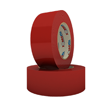 D/S Red Polyester Tape